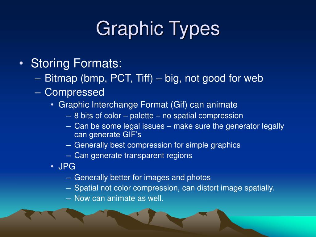 Graphic Types