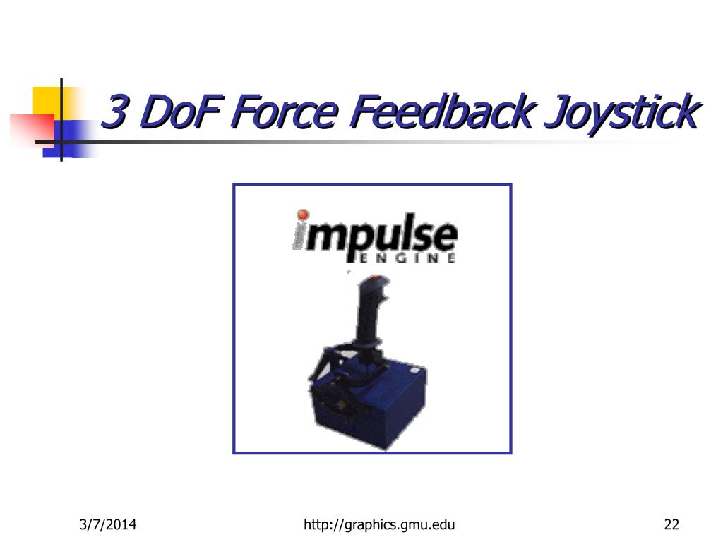 3 DoF Force Feedback Joystick