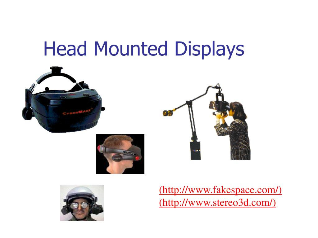 Head Mounted Displays