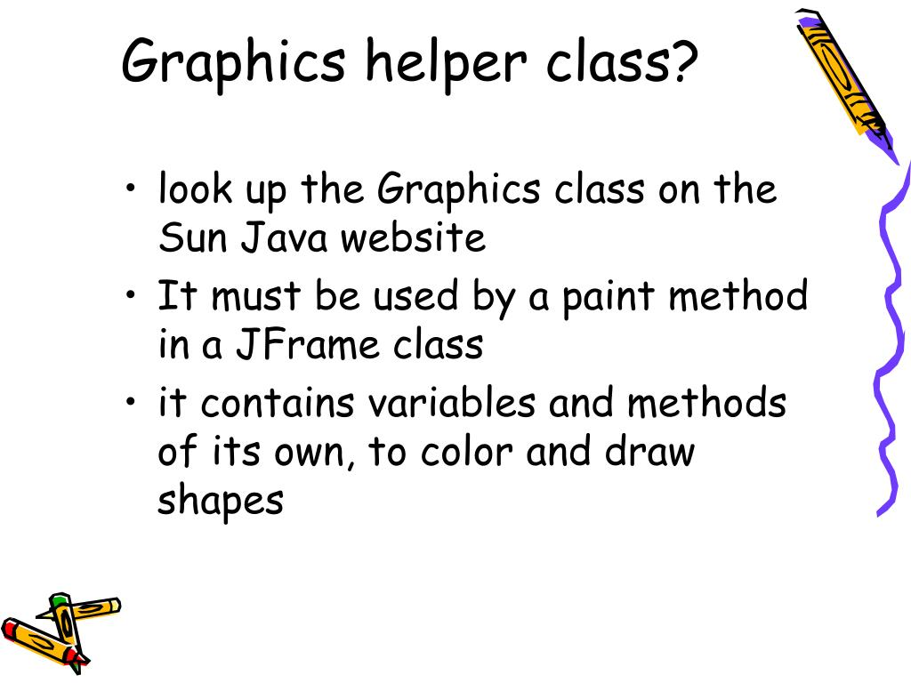 Graphics helper class?