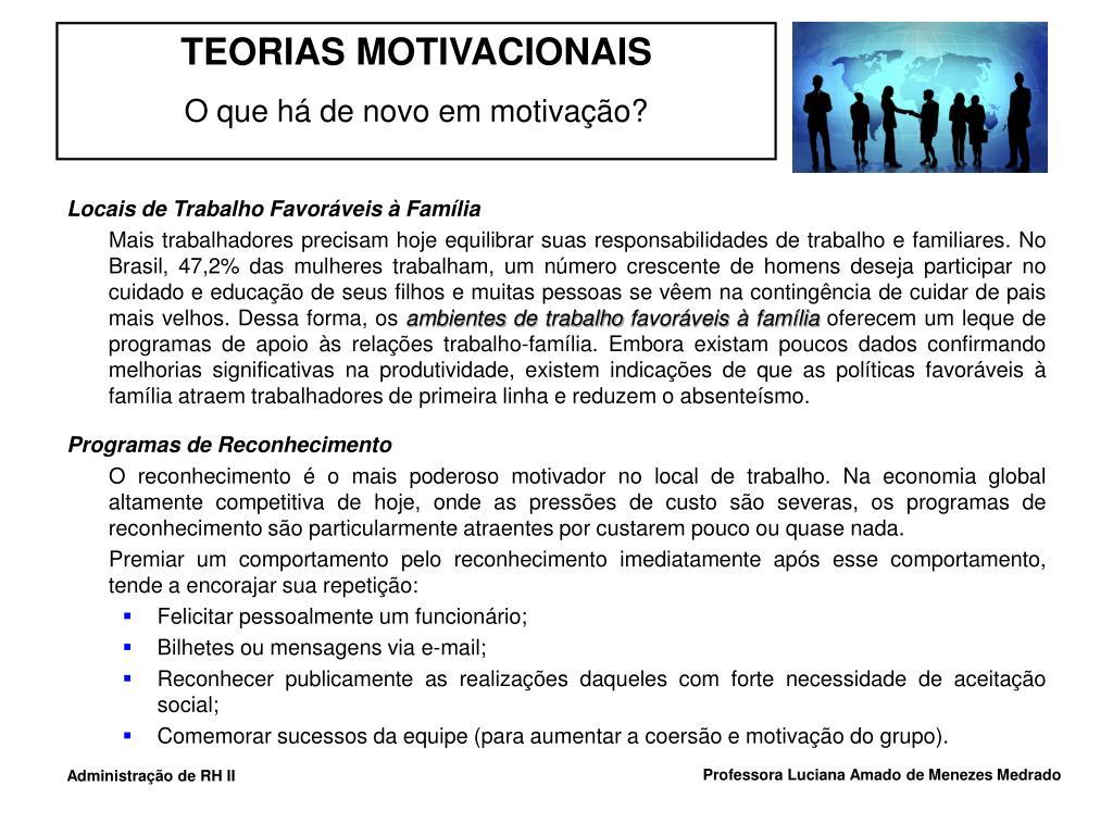 Locais de Trabalho Favoráveis à Família