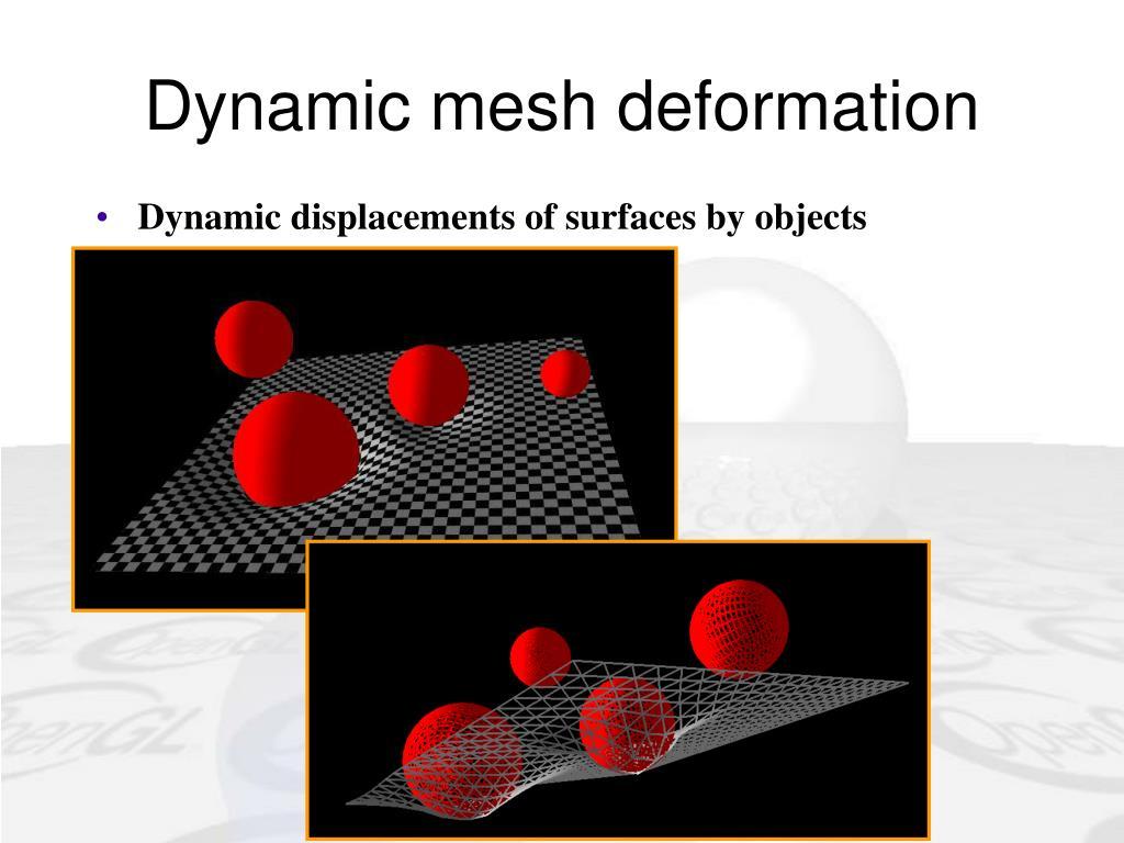 Dynamic mesh deformation