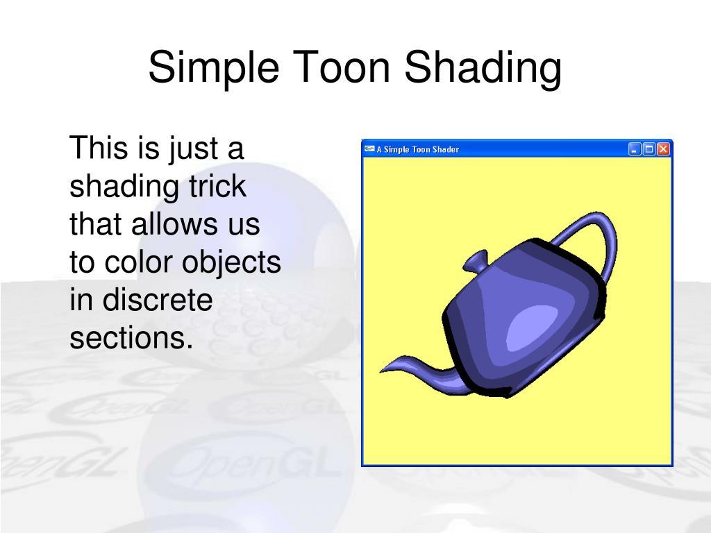Simple Toon Shading