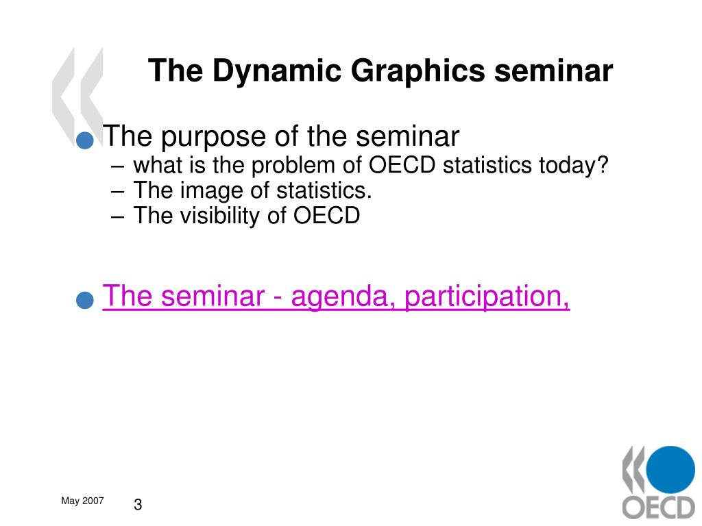 The Dynamic Graphics seminar