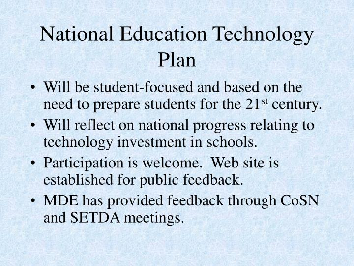 National education technology plan3