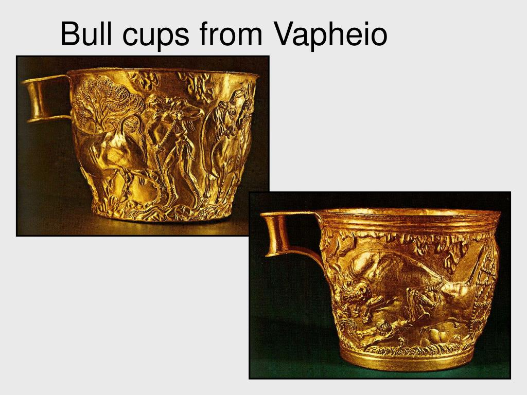 Bull cups from Vapheio