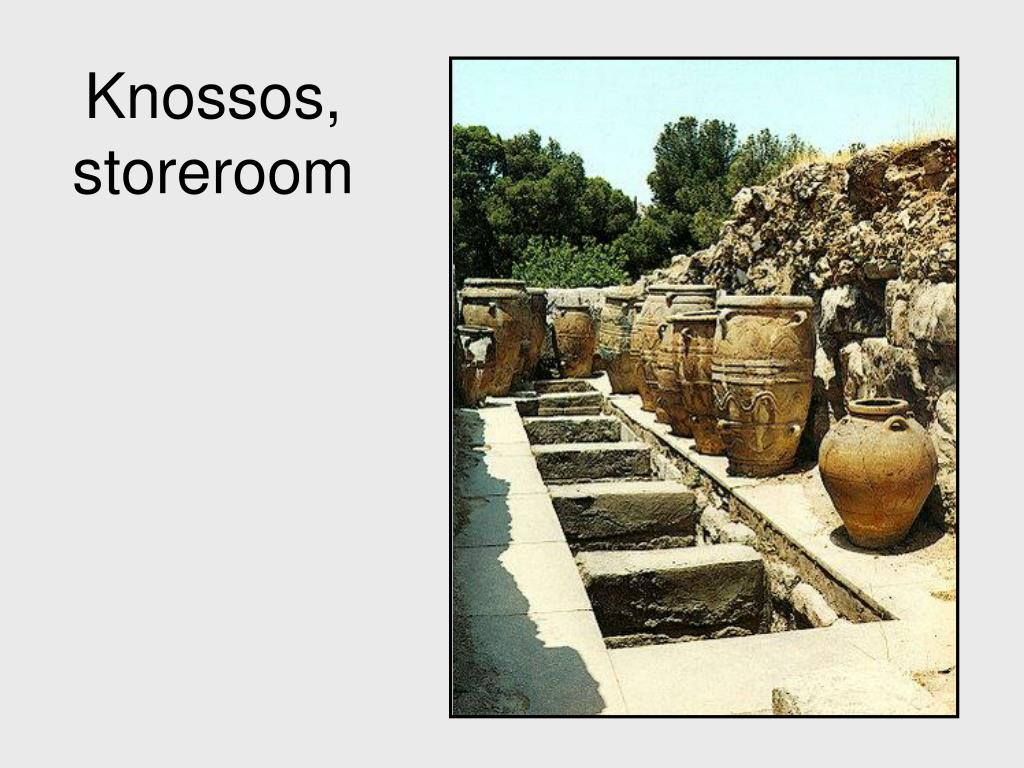 Knossos, storeroom