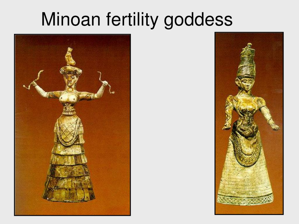 Minoan fertility goddess
