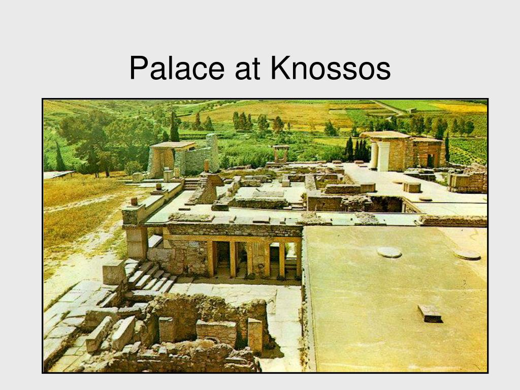 Palace at Knossos