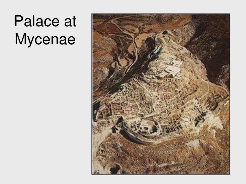 Palace at Mycenae