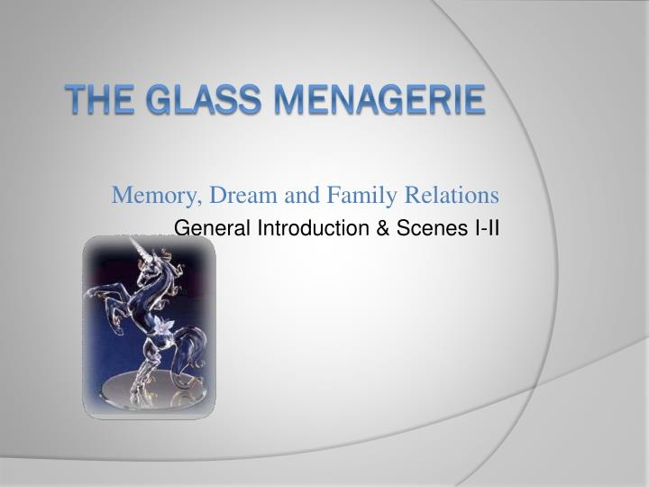 Thesis Statement For The Glass Menagerie
