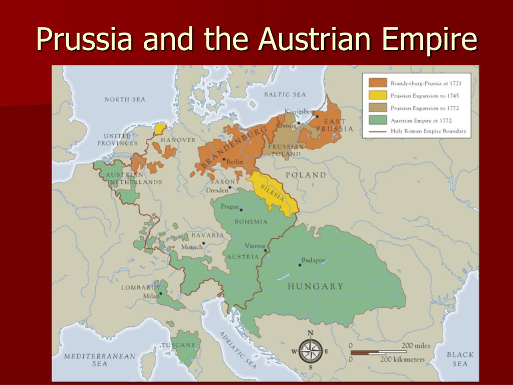 Prussia and the Austrian Empire