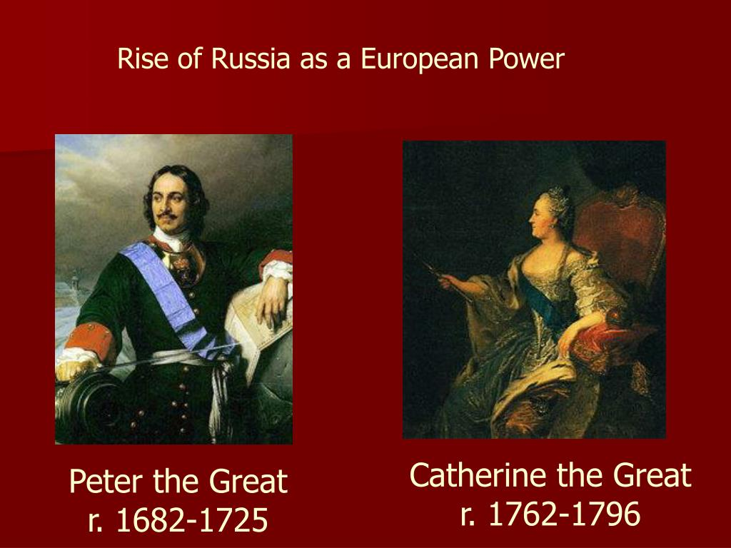 Rise of Russia as a European Power