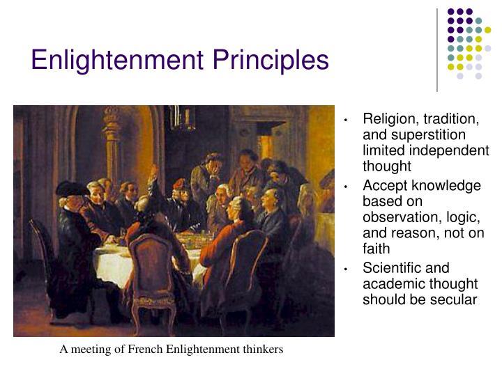 Enlightenment Principles