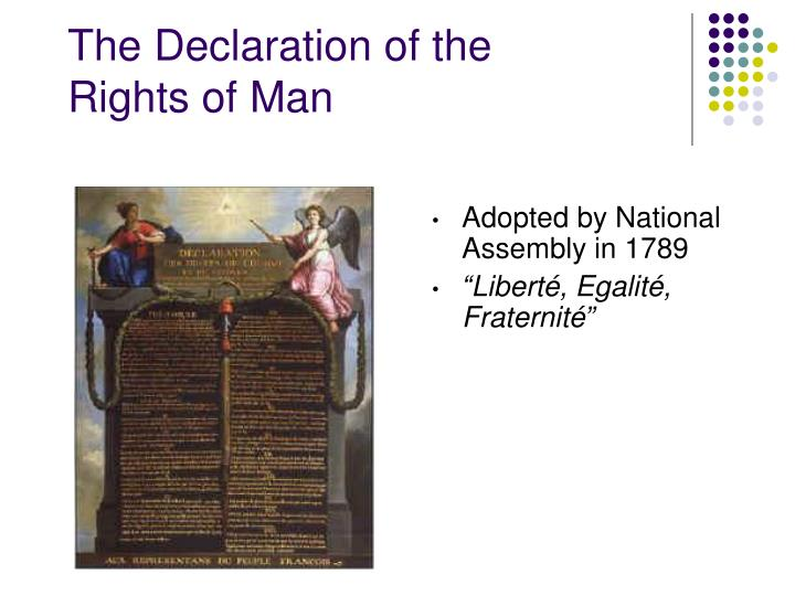 The Declaration of the