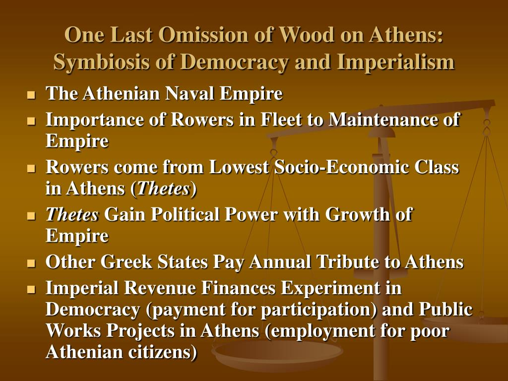 One Last Omission of Wood on Athens: