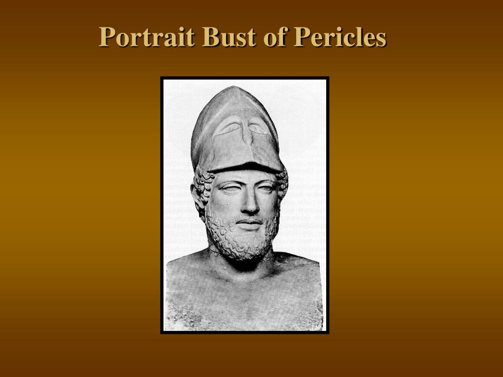 Portrait Bust of Pericles