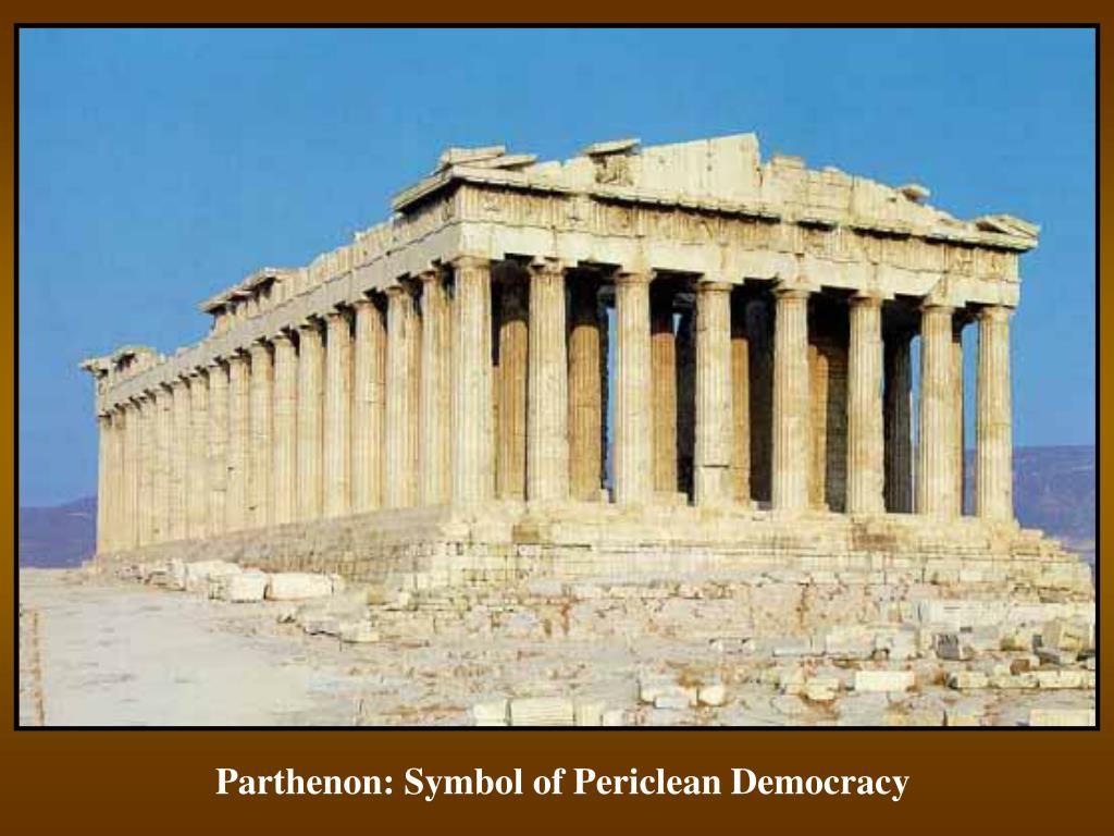 Parthenon: Symbol of Periclean Democracy