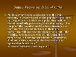 some views on d mokratia18
