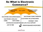 so what is electronic commerce12