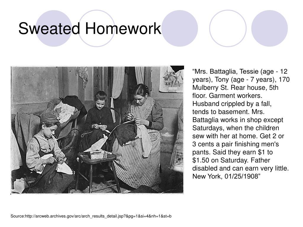 Sweated Homework