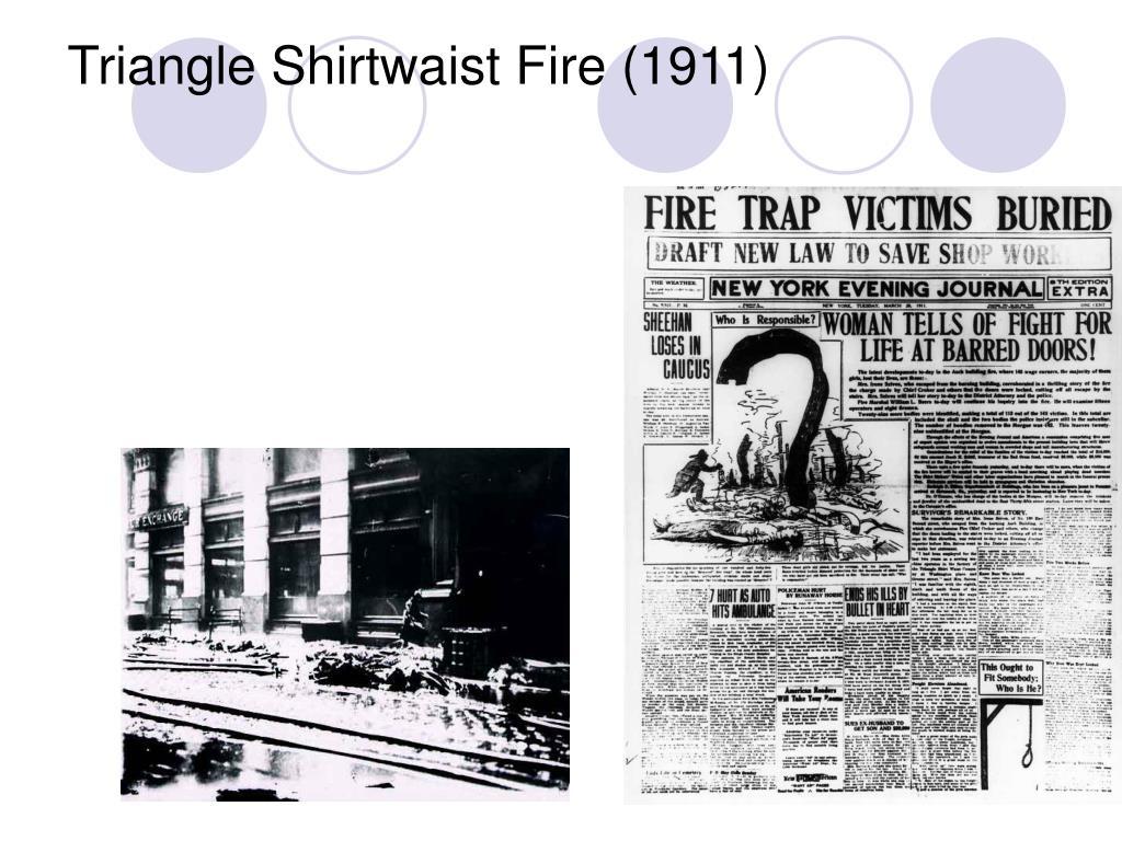 Triangle Shirtwaist Fire (1911)
