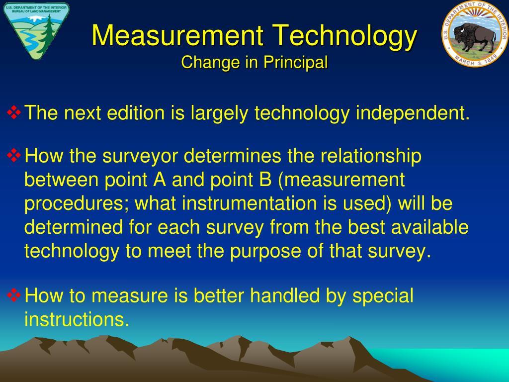 Measurement Technology