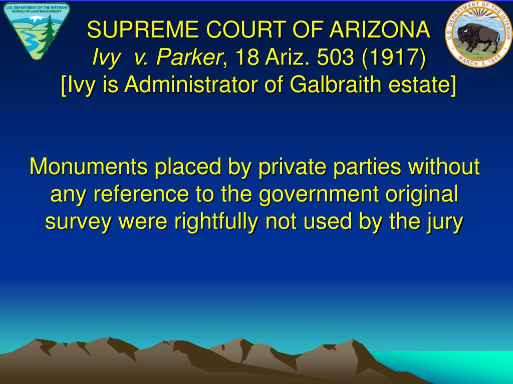 SUPREME COURT OF ARIZONA