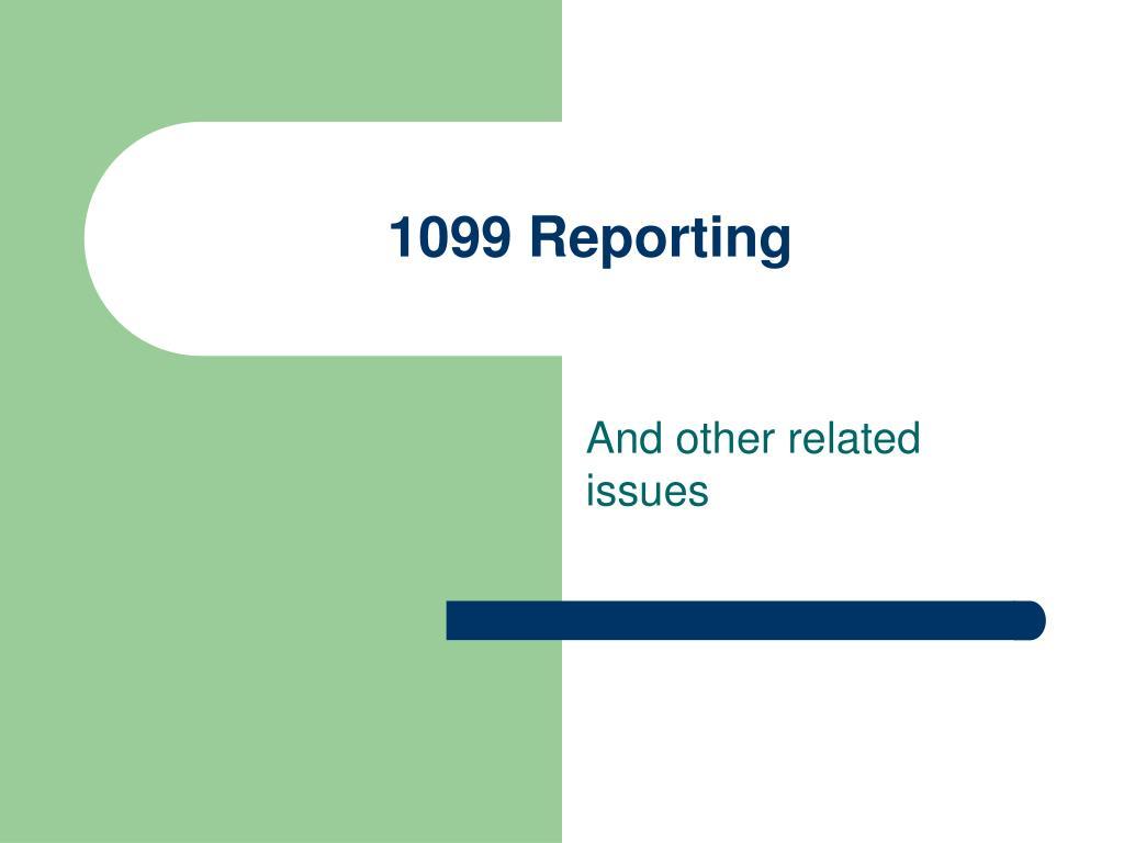 1099 Reporting