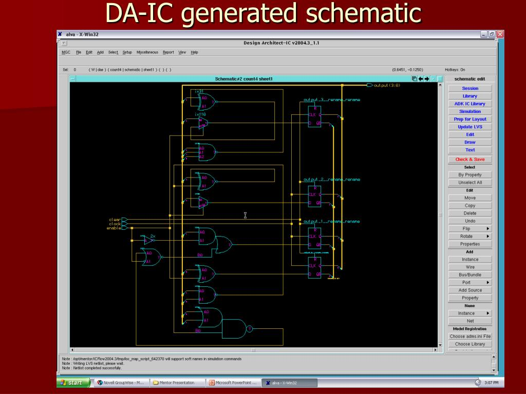 DA-IC generated schematic