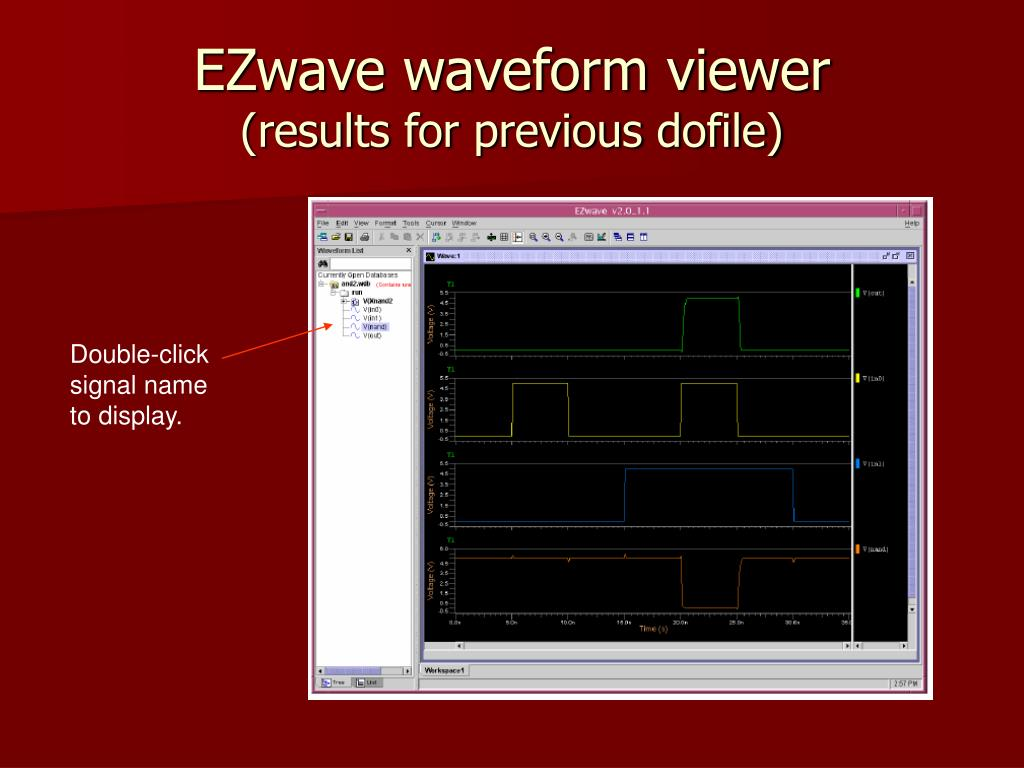 EZwave waveform viewer