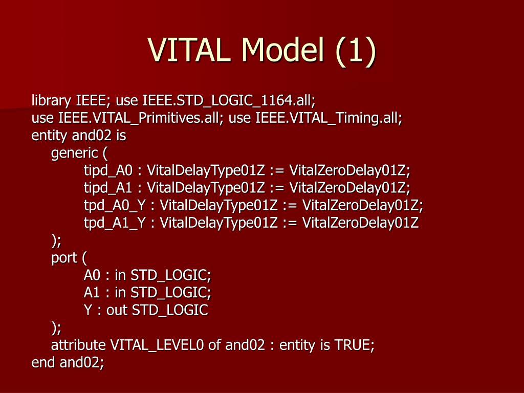 VITAL Model (1)