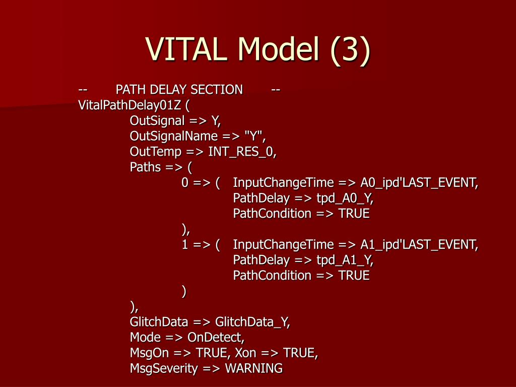 VITAL Model (3)