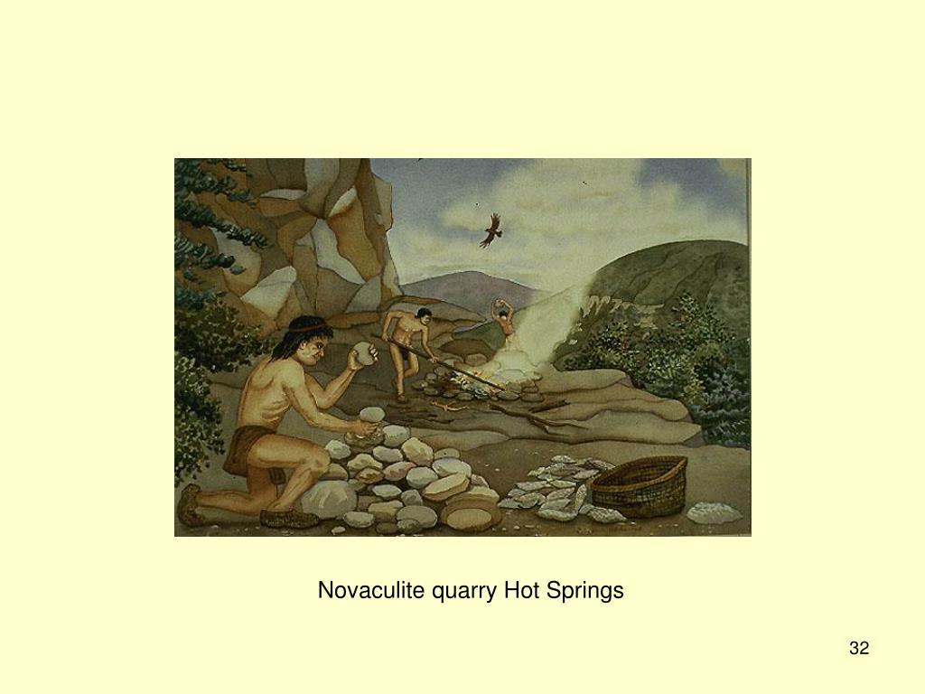 Novaculite quarry Hot Springs