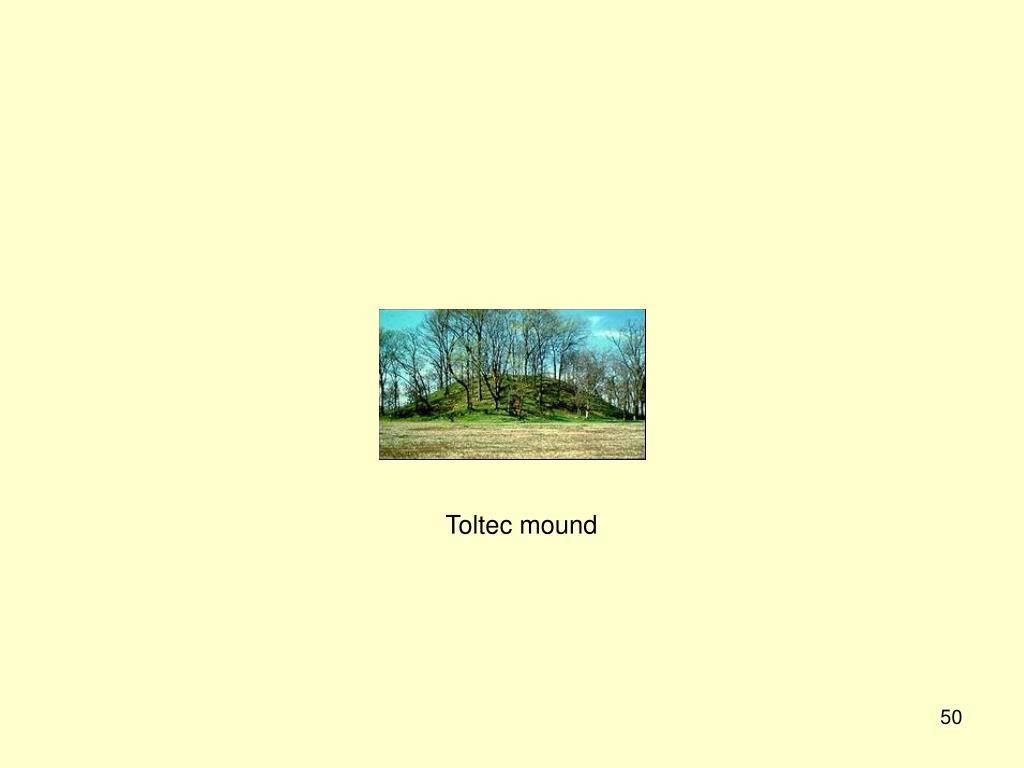 Toltec mound