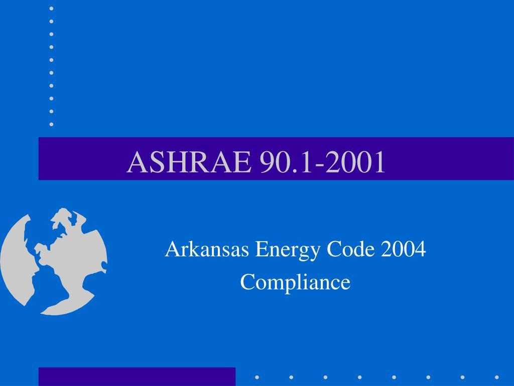 ASHRAE 90.1-2001