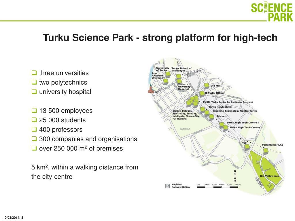 Turku Science Park - strong platform for high-tech