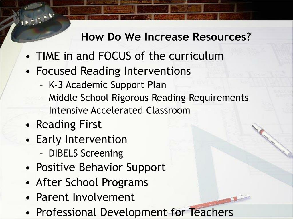 How Do We Increase Resources?