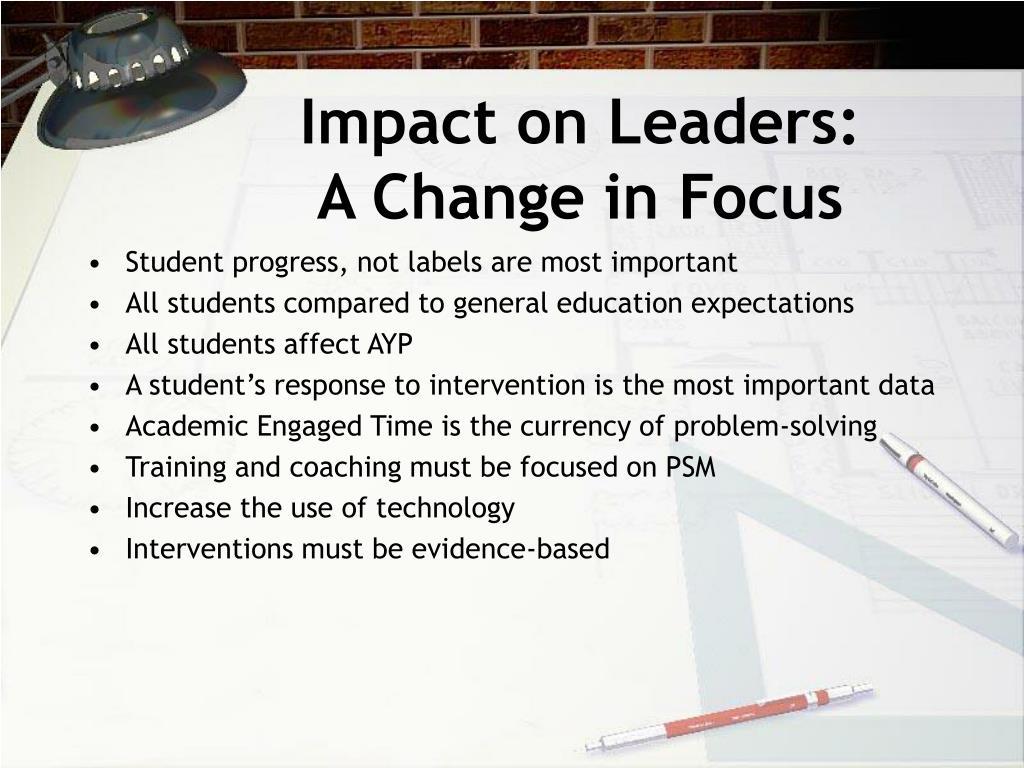 Impact on Leaders: