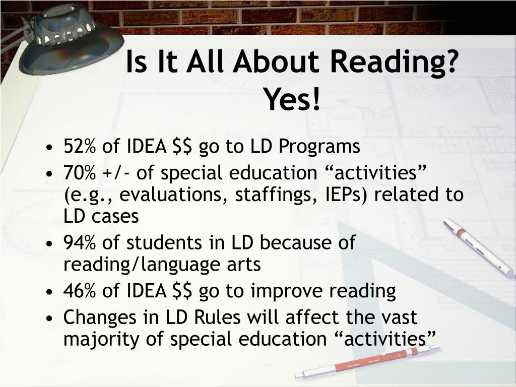 Is It All About Reading? Yes!