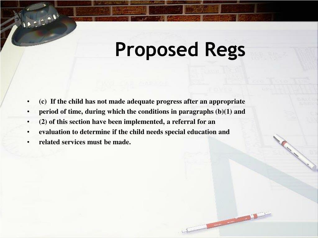 Proposed Regs