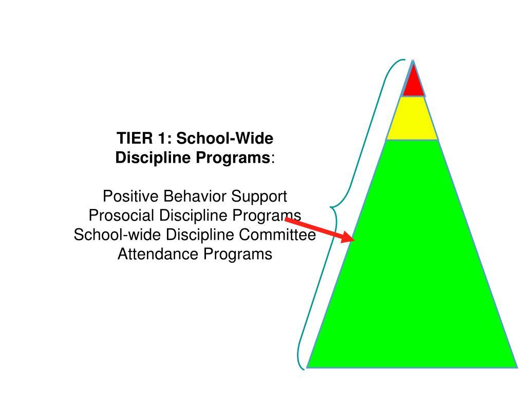 TIER 1: School-Wide