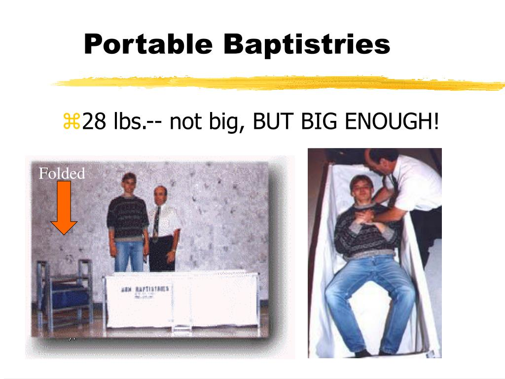 Portable Baptistries