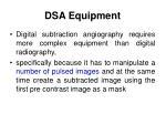 dsa equipment