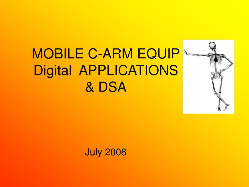 MOBILE C-ARM EQUIP