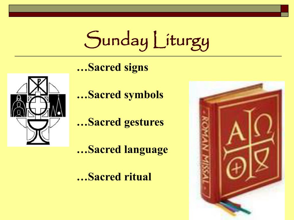 Sunday Liturgy