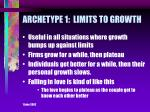 archetype 1 limits to growth9