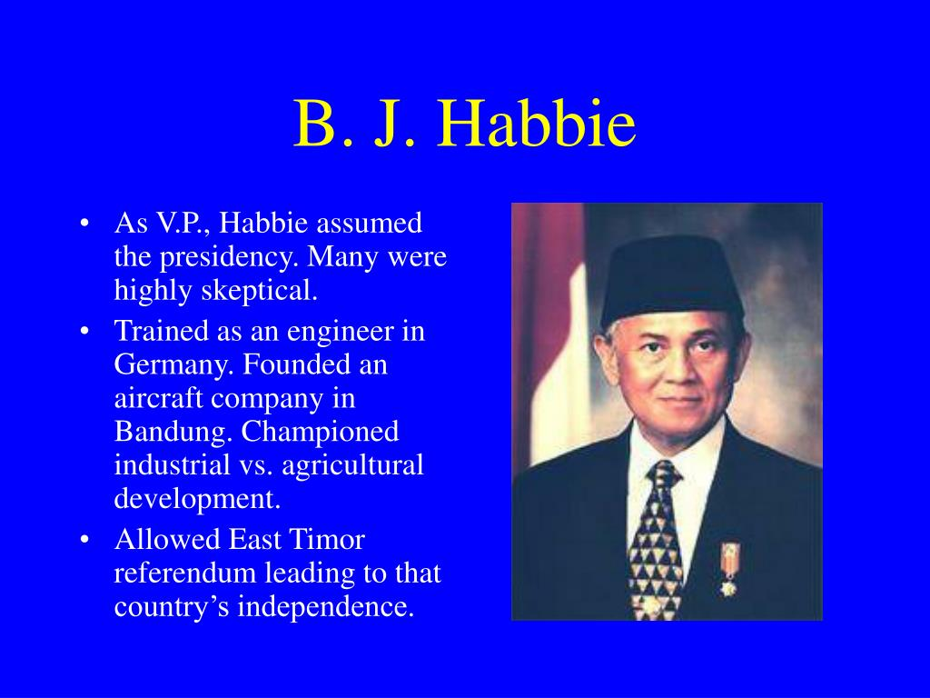 B. J. Habbie