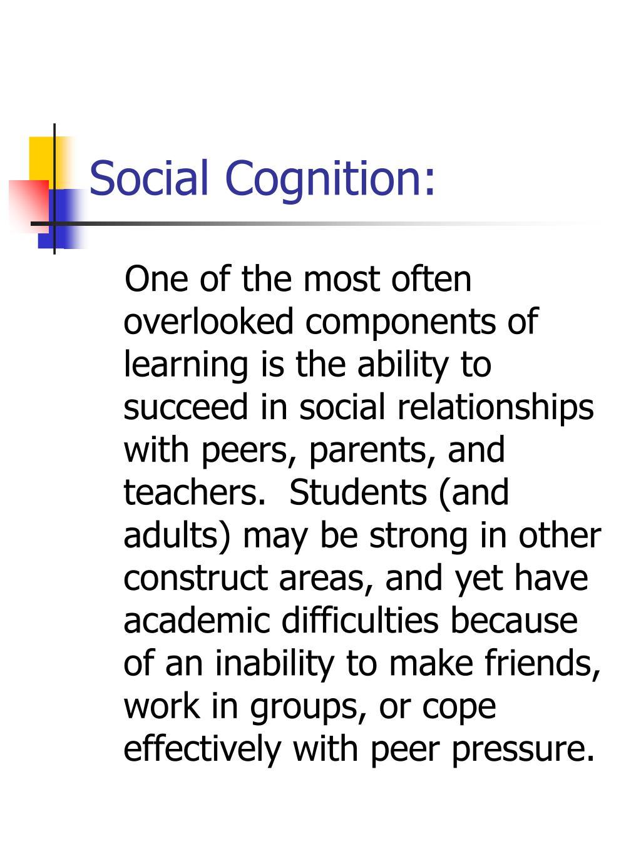 Social Cognition:
