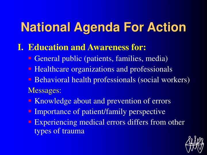 National Agenda For Action